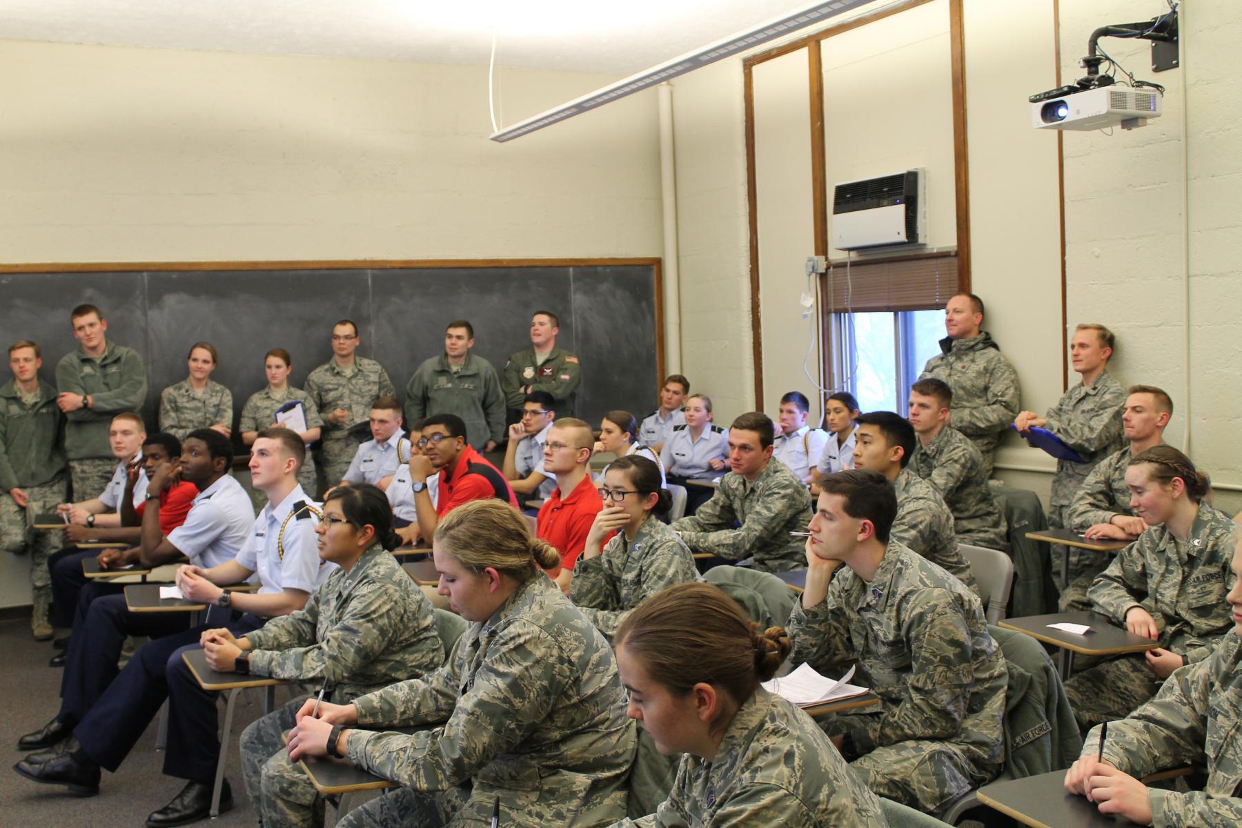 detachment 465 cadet life