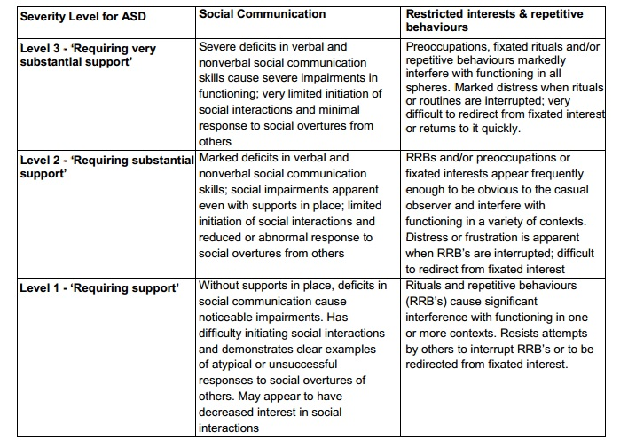 case study of autism spectrum disorder