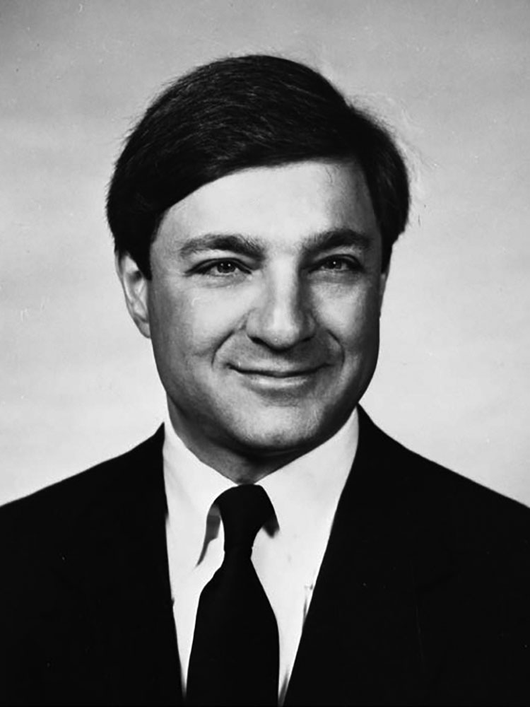Portrait of Graham B. Spanier