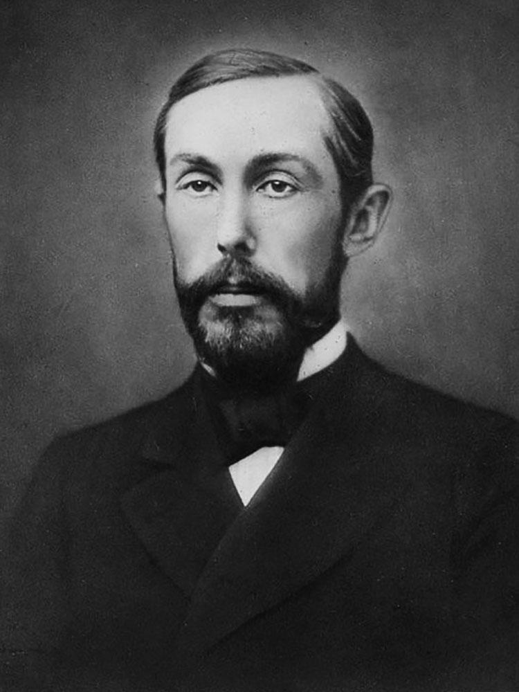 Portrait of James Irving Manatt