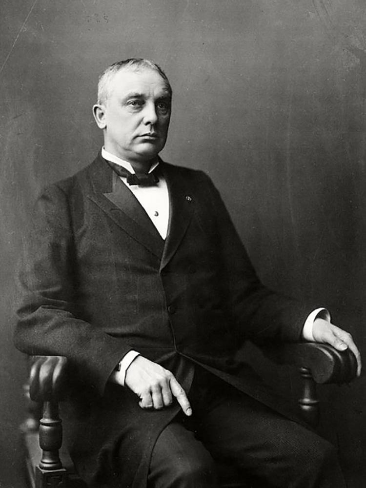 Portrait of Elisha Benjamin Andrews