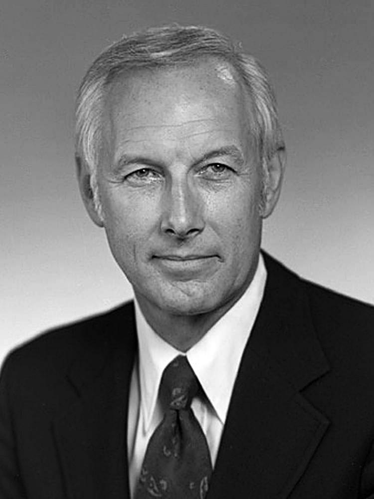 Portrait of James Zumberge
