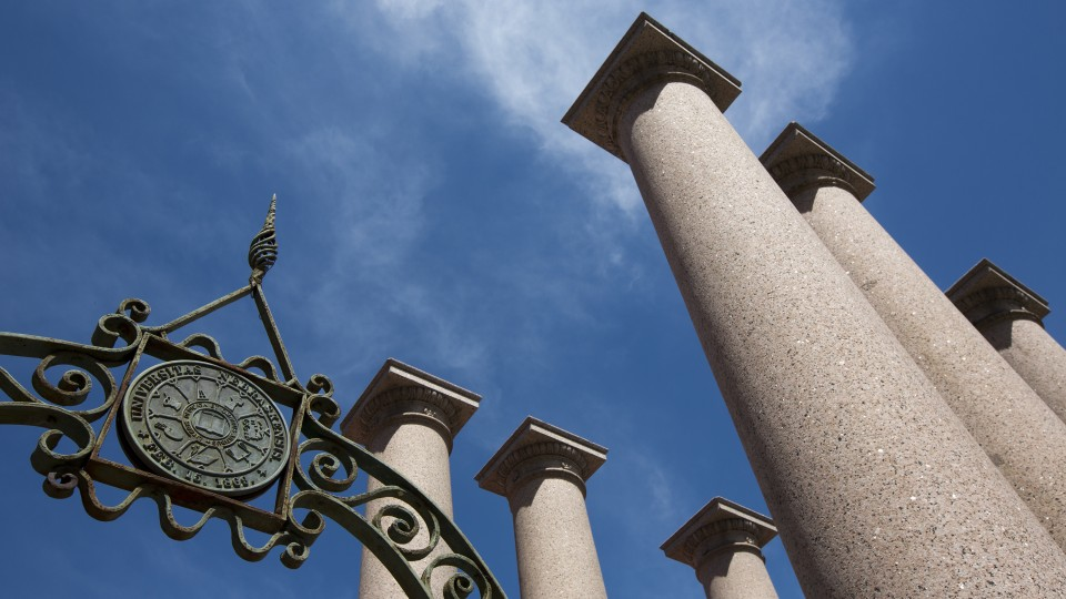 Columns on campus; links to news story New partnership grants fund projects with global impact