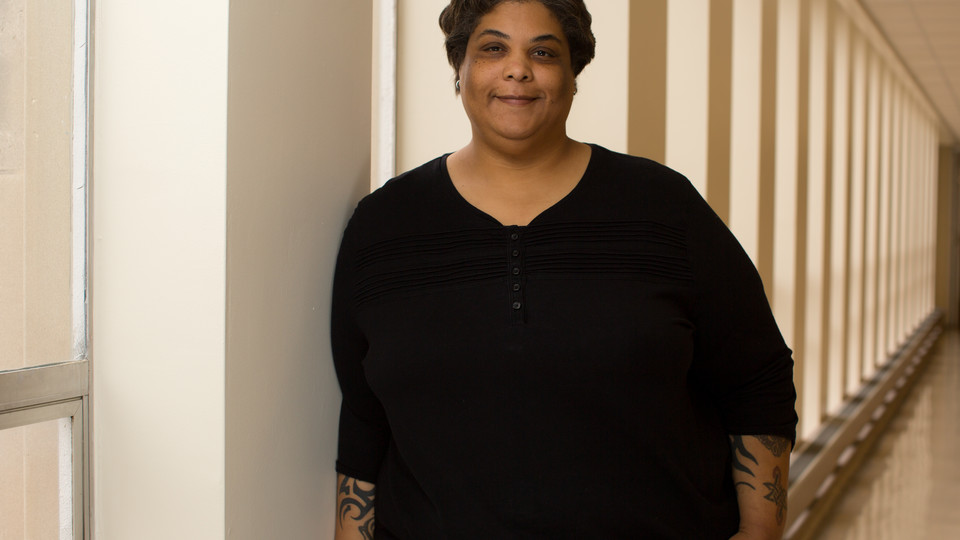 ; links to news story Campus reading series launches with Husker alumna Roxane Gay