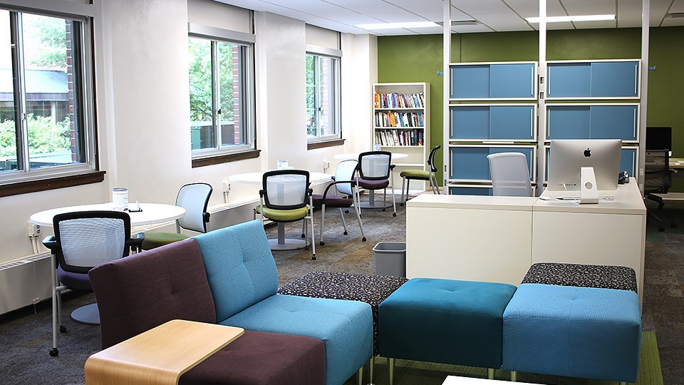 Writing Center interior