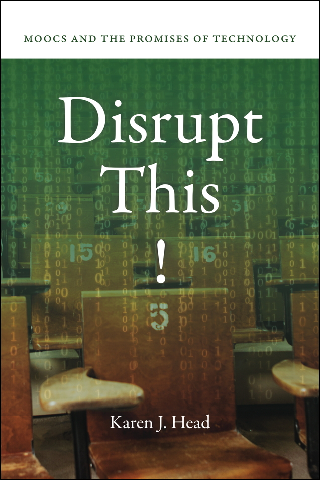 Cover of DISRUPT THIS