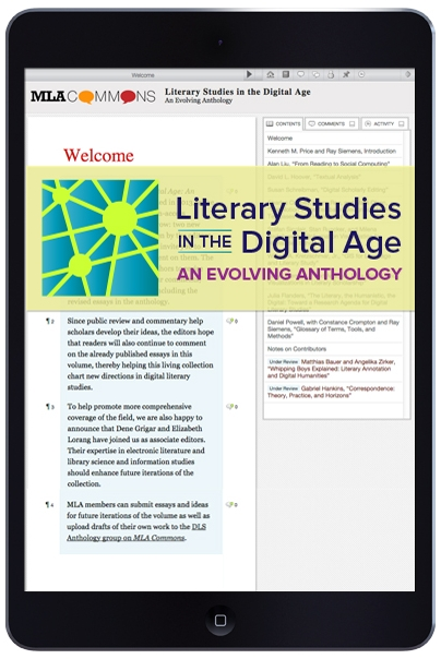 Cover image for Literary Studies in the Digital Age: An Evolving Anthology