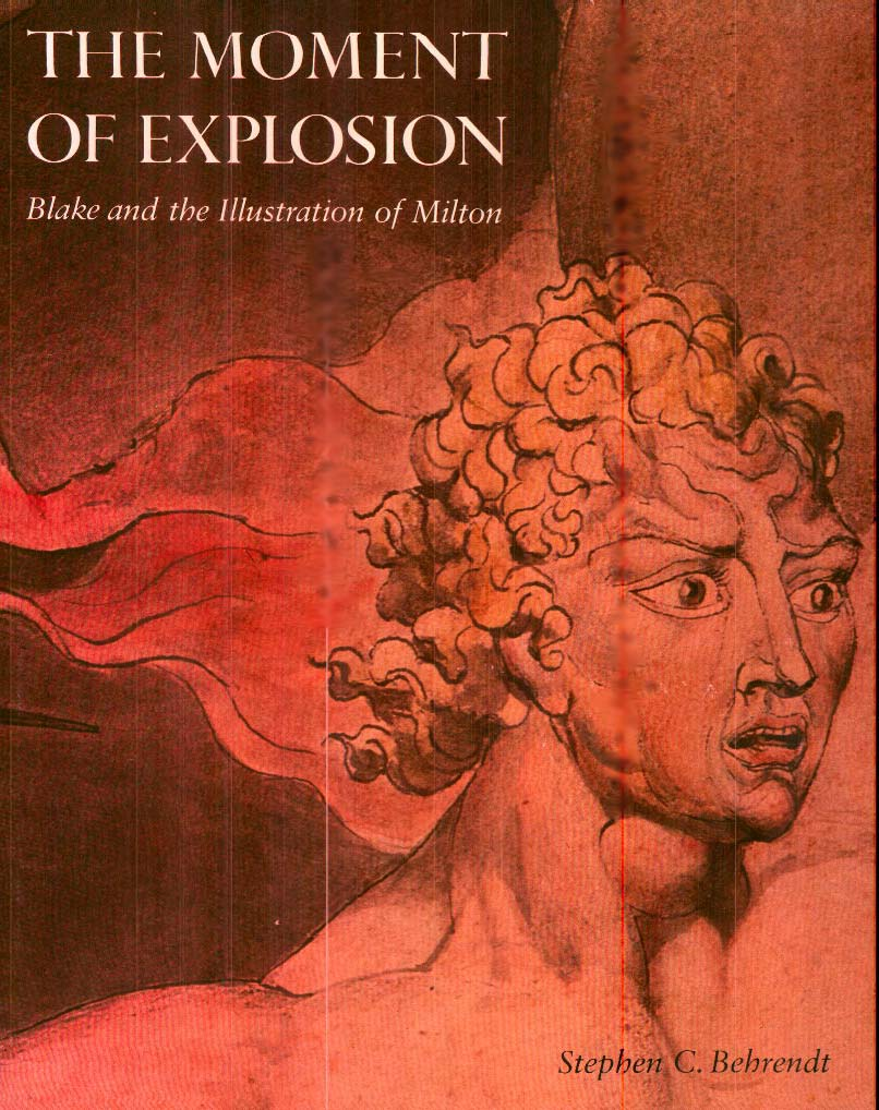 Cover image for The Moment of Explosion: Blake and the Illustration of Milton