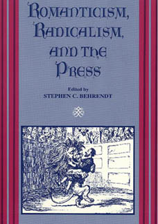 Cover image for Romanticism, Radicalism, and the Press