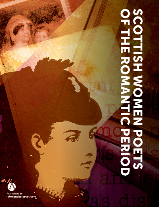 Cover image for Scottish Women Poets of the Romantic Period