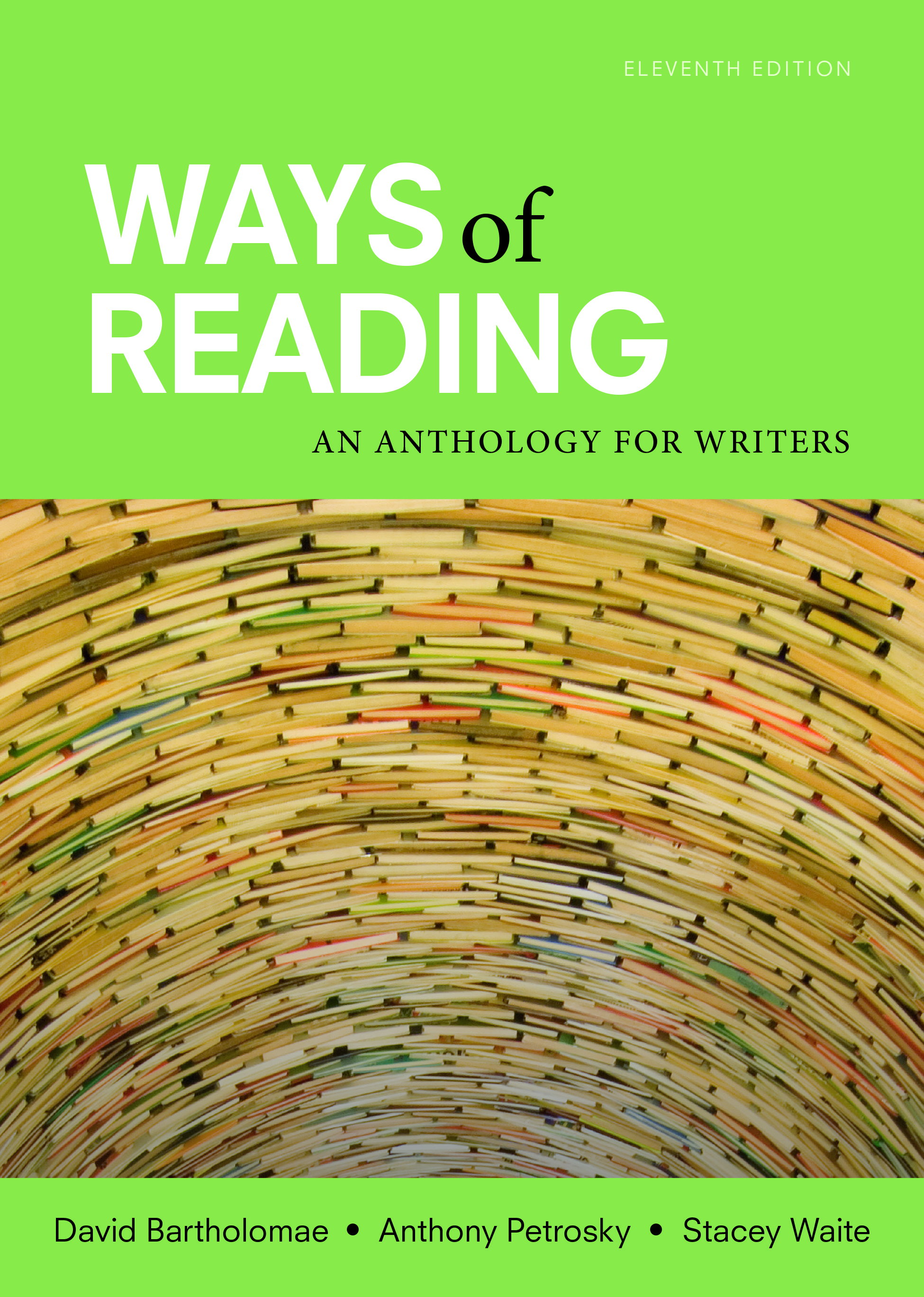 Cover image for Ways of Reading: An Anthology for Writers