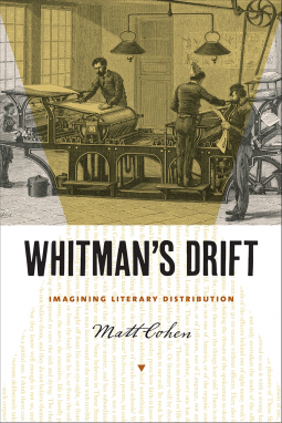 Cover image for Whitman's Drift: Imagining Literary Distribution