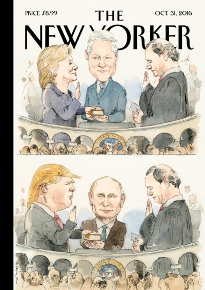 Cover of the October 31, 2016 issue of The New Yorker
