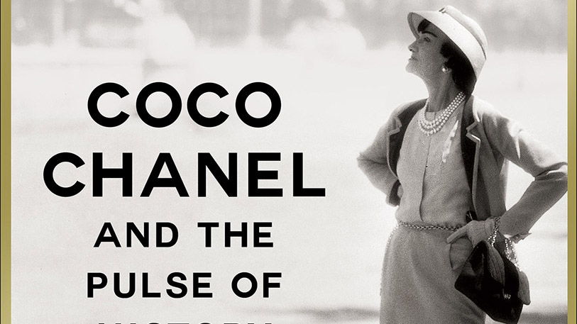 Cover image from the book MADEMOISELLE - COCO CHANEL AND THE PULSE OF HISTORY