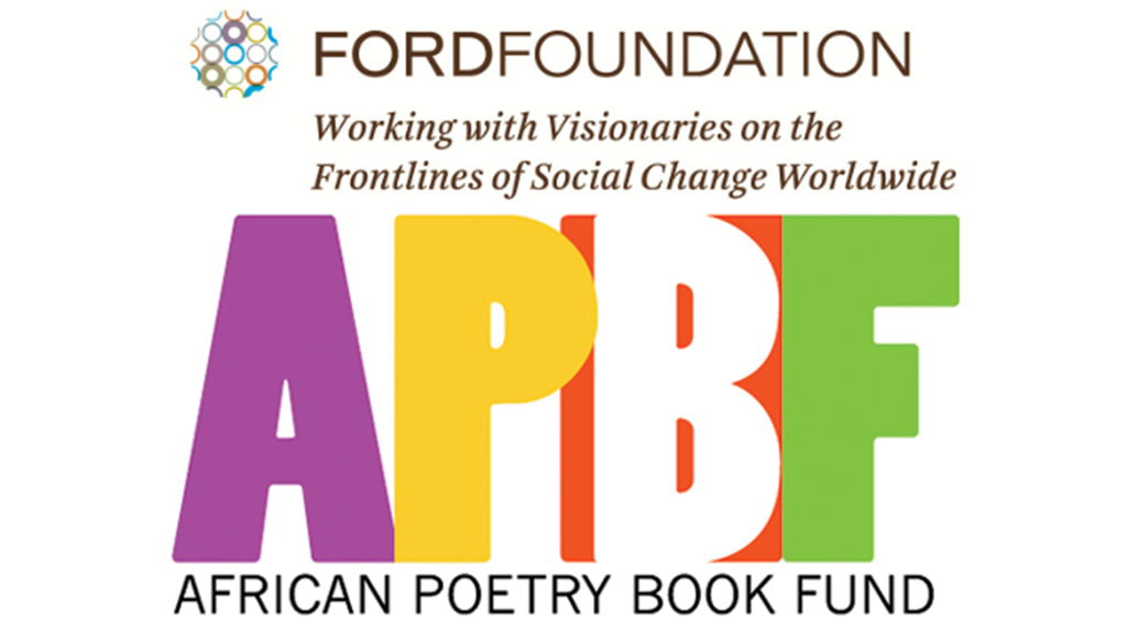 African Poetry Book Fund and Ford Foundation logos