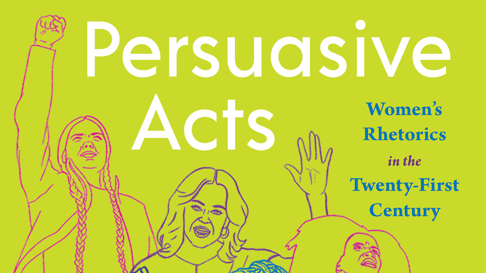 Cover of PERSUASIVE ACTS; links to news story