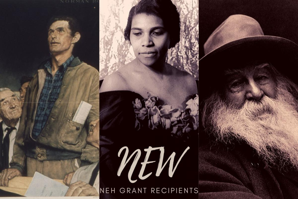 A Norman Rockwell painting, a photo of Marian Anderson, and a daguerreotype of Walt Whitman. ; links to news story