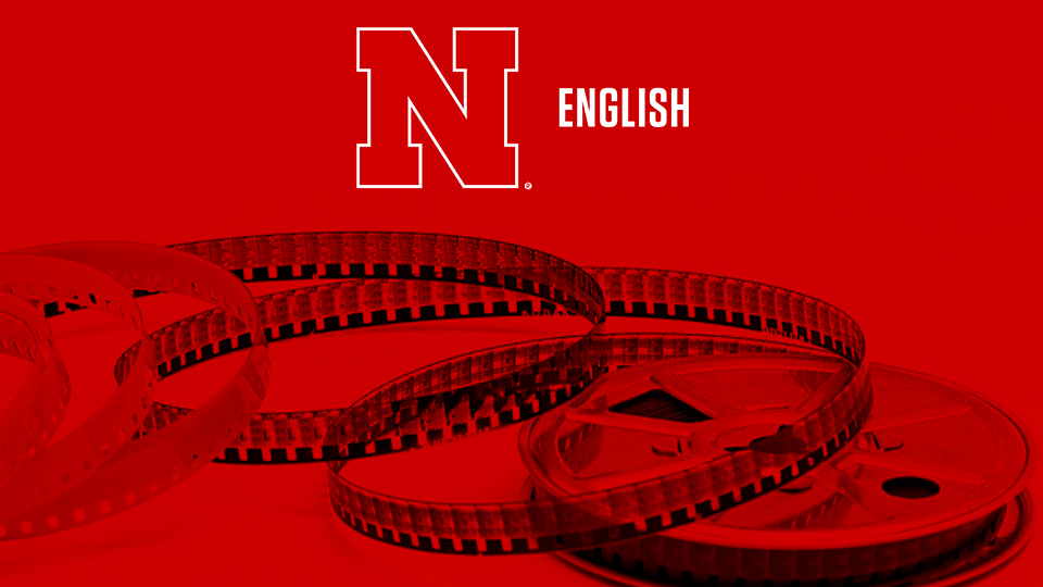 English logo and film reels; links to news story