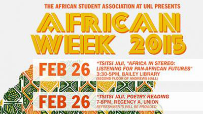 'African Week' events open with poetry reading, discussion