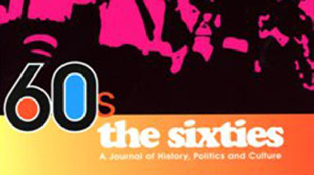 Cover image from The Sixties: a Journal of History, Politics and Culture