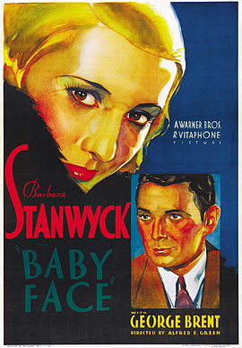 Poster for the film Baby Face
