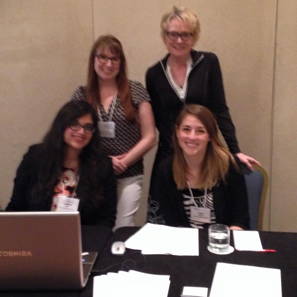 Kelly Meyer, Dr. Elenore Long, Ashanka Kumari, and Katie McWain