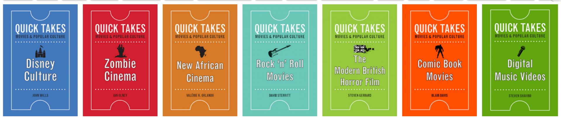 Quick Takes book series covers