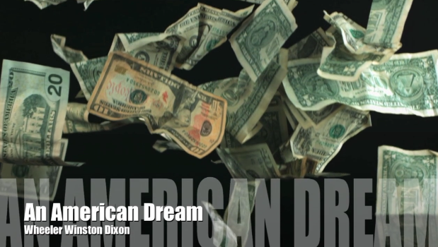 Screenshot from Wheeler Winston Dixon's video AN AMERICAN DREAM