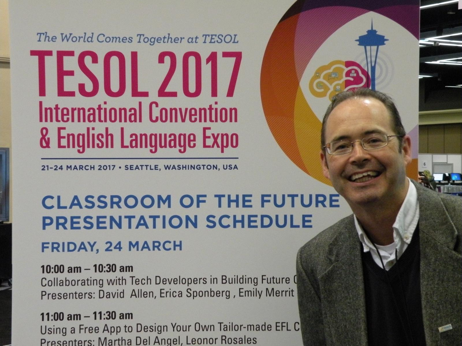 Patrick Randolph at TESOL Convention