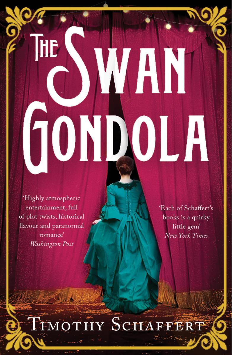 Cover of UK Paperback 'The Swan Gondola'