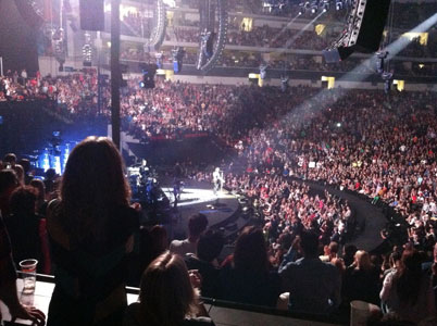 Pinnacle Bank Arena concert