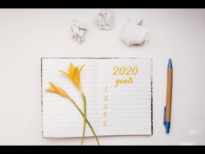 planner for 2020 goals