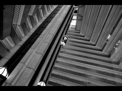 elevators going up