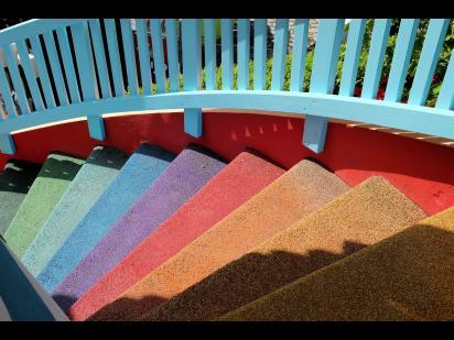 stairs leading upwards