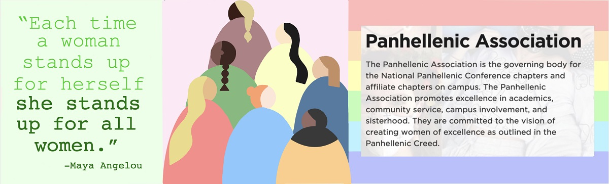 A Poster About the Panhellenic Association
