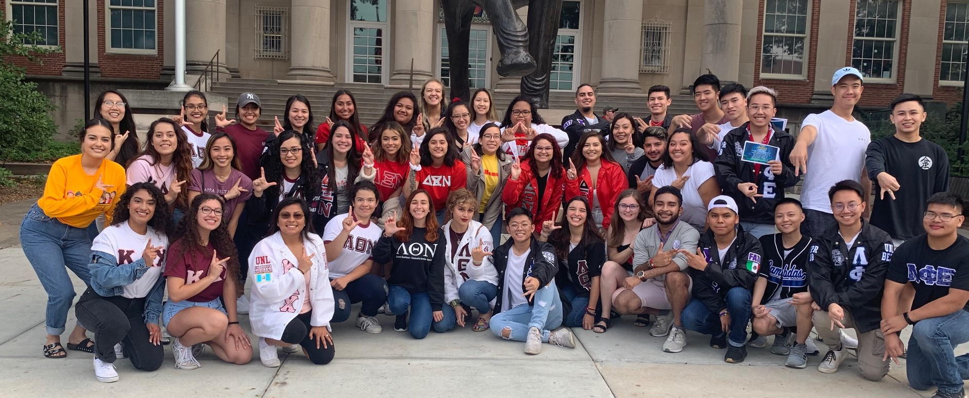 A Group Shot of the Multicultural Greek Council