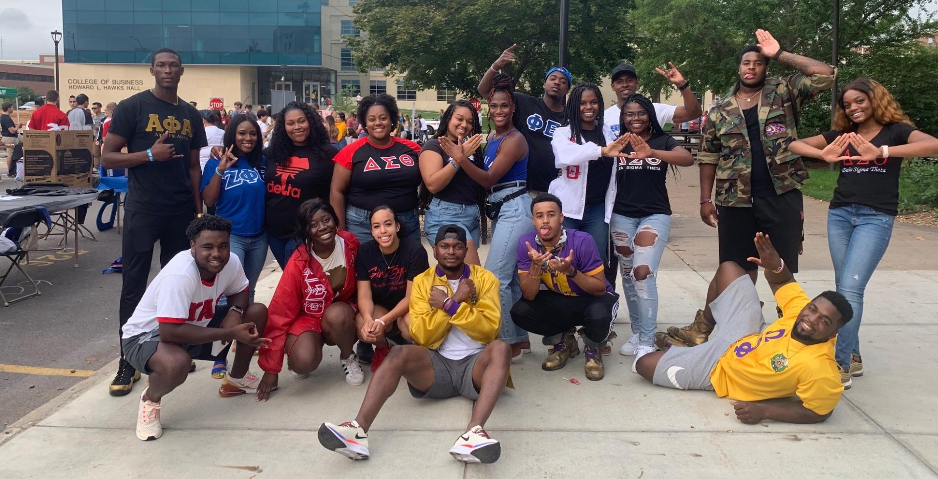 A Group Shot of the National Panhellenic Council