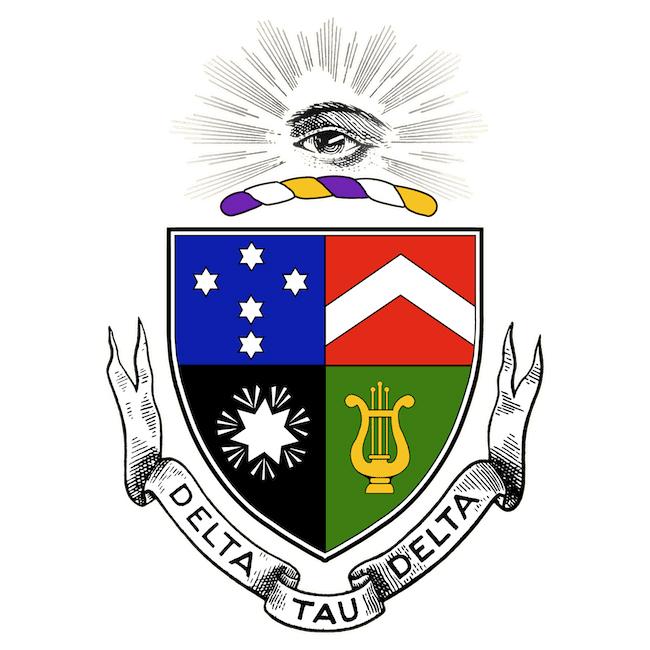 Delta Tau Delta Crest