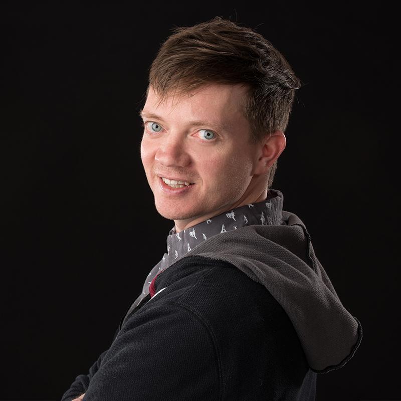 A portrait photo of Andy Park