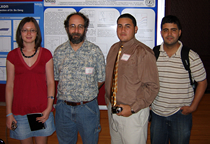 Dr. Dowben with Research Group