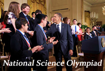 President Obama congratulates winning competitors