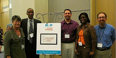 Presenters at NWP meeting