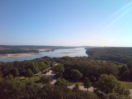 Platte River from Bluff