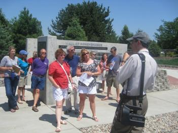 Ed Zimmer's tour of the cemetery