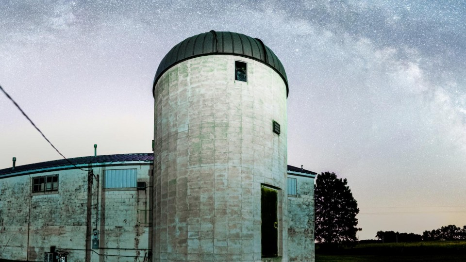 Meteor shower to dazzle during observatory open house