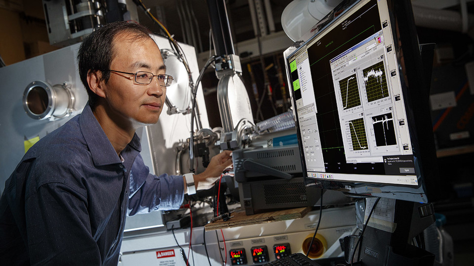Xu earns Early Career award to advance next-gen electronics