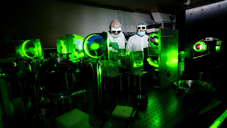 Extreme Light Laboratory research advancing despite pandemic