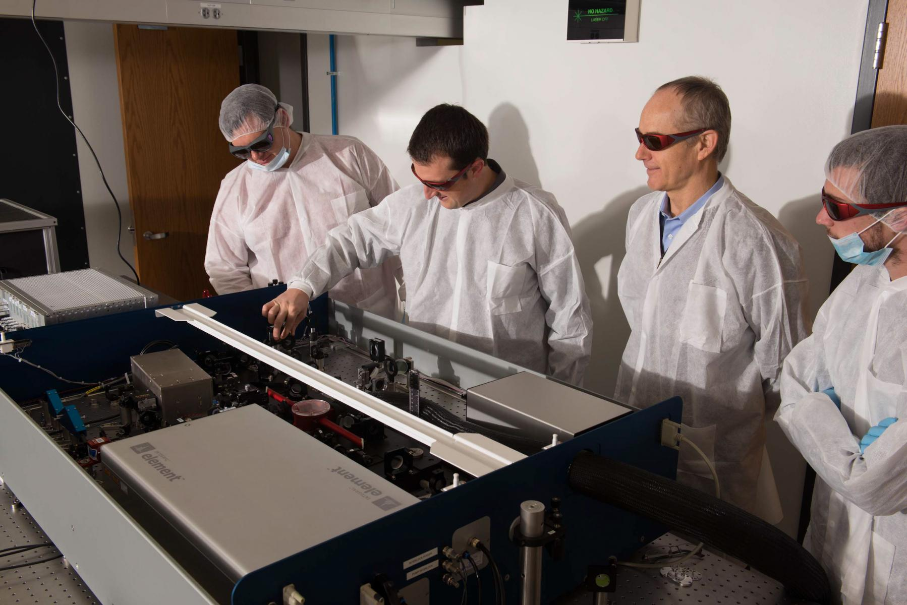 Nebraska laser lab generates light that's 'out of this world'