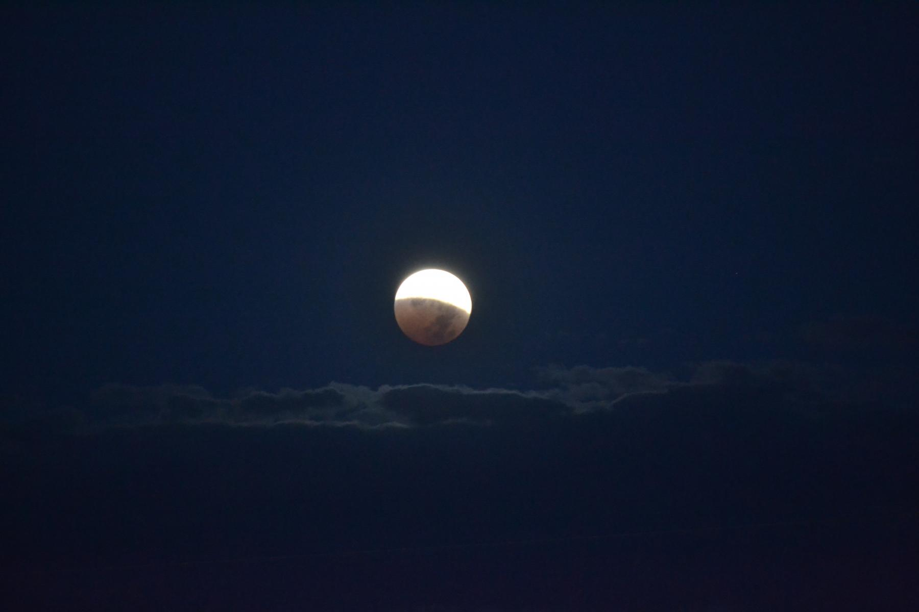 Lunar eclipse viewing event