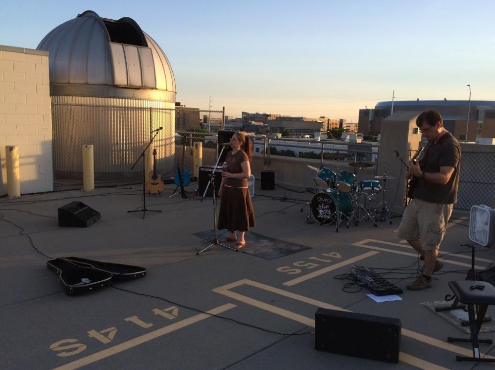 Student Observatory Night Follows Jazz in June